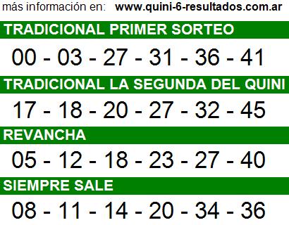Sorteo 2239 Quini 6 25/03/2015