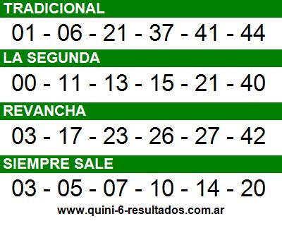 Sorteo 2378 Quini 6 24/07/2016
