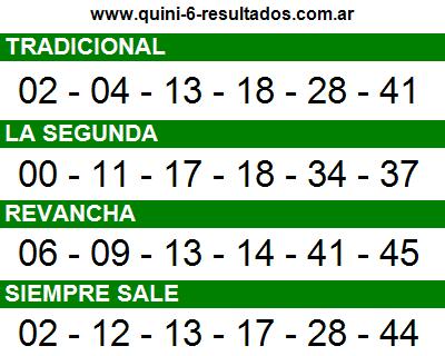 Sorteo 2388 Quini 6 28/08/2016
