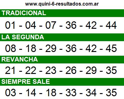 Sorteo 2417 Quini 6 07/12/2016